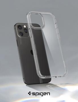 """Ốp dẻo Spigen Crystal Hybrid iPhone 12 Pro 6.1"""" (chính hãng)"""